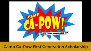 Camp Ca-Pow (College Access – Planning Our Way)
