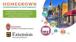 Homegrown: Entrepreneurship in your Community Workshop