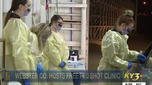 KY3 News Features UMKC Pharmacy Students During Flu Shot Clinic in Webster County