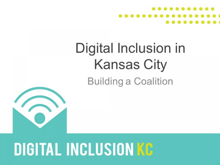 KC Coalition for Digital Inclusion