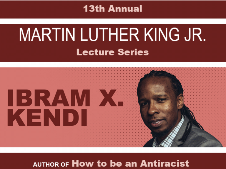 Dr. Ibram X. Kendi To Be Keyote of 13th Annual UMKC Martin Luther King Jr. Lecture Series