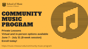 Private Lessons at the MU School of Music