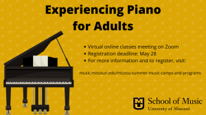 Experiencing Piano for Adults