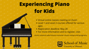 Experiencing Piano for Kids