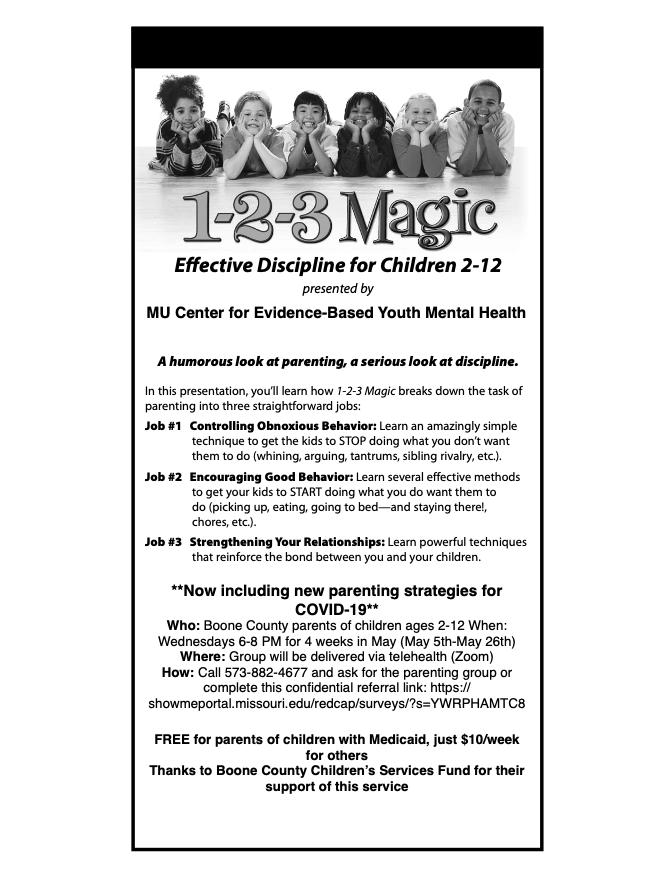 1,2,3 Magic Behavioral Parent Training