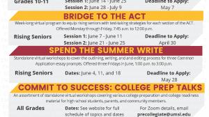 UMSL Bridge Program 2021 Virtual Summer Opportunities