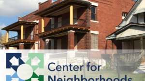 UMKC Center for Neighborhoods releases study on small apartment buildings for the City of Kansas City, Missouri