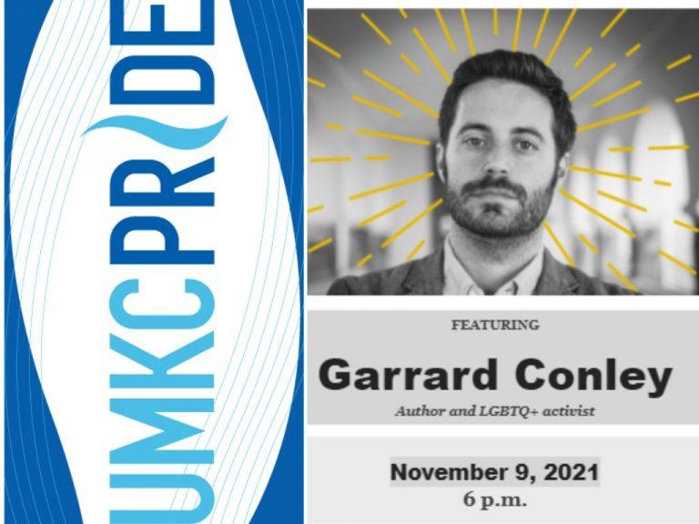 UMKC Pride Lecture Featuring Garrard Conley