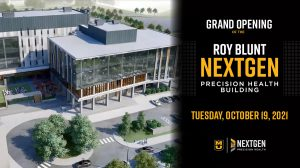 Roy Blunt NextGen Precision Health Building Grand Opening