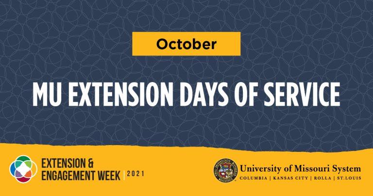 MU Extension Days of Service