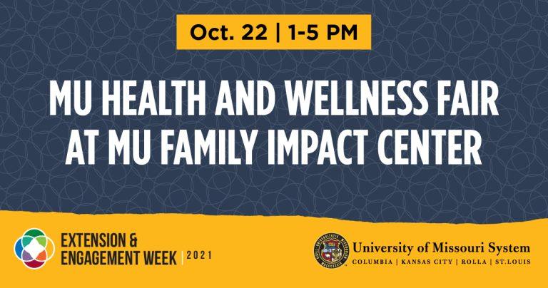 MU Health and Wellness Fair