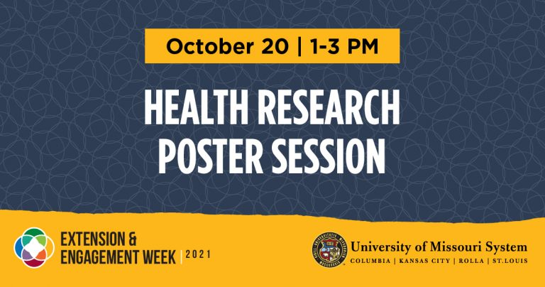 All Things Missouri: Health Research Poster Session