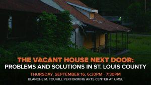 The Vacant House Next Door